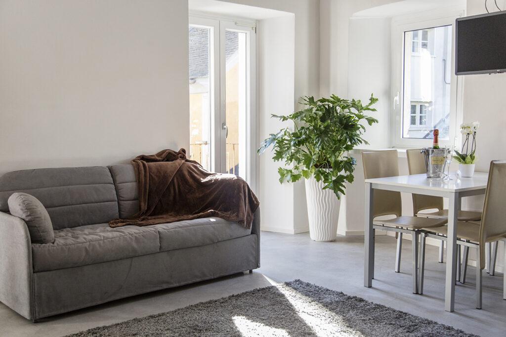 bed and breakfast domodossola salotto